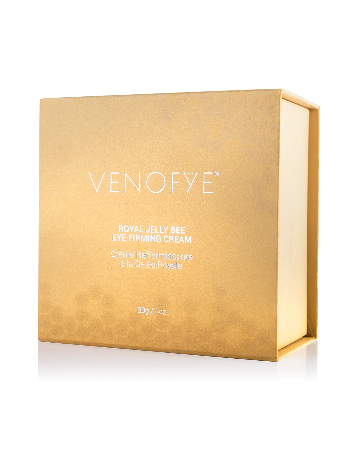 Royal Jelly Bee Eye Firming Cream in its case